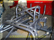 OverKill Off Road Jeep CJ7 shock hoops