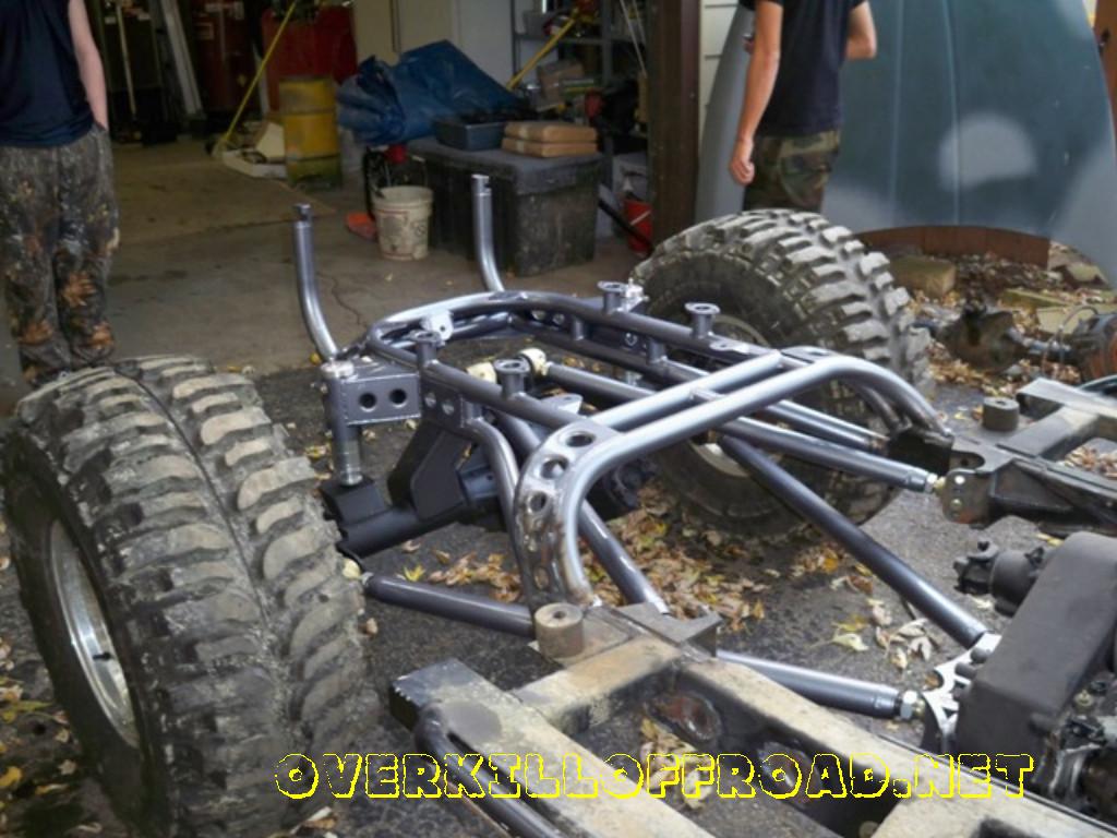 Santanoriess Jeep 4 Link