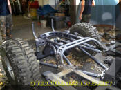 OverKill Off Road Jeep CJ7 chassis